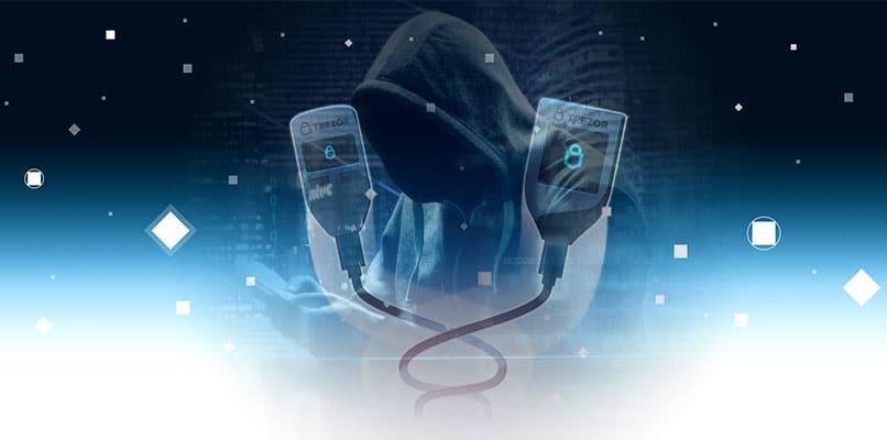 trezor vulnerabilidad llaves privadas