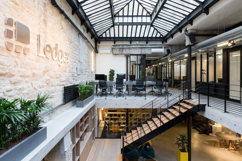 Oficinas de Ledger en París. Imagen por: bmagroup-paris.com