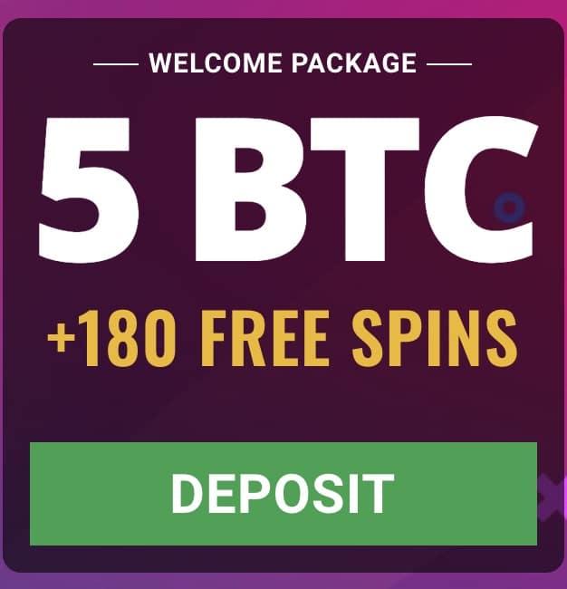 Promociones Bienvenida Bitcoin BTC Casino