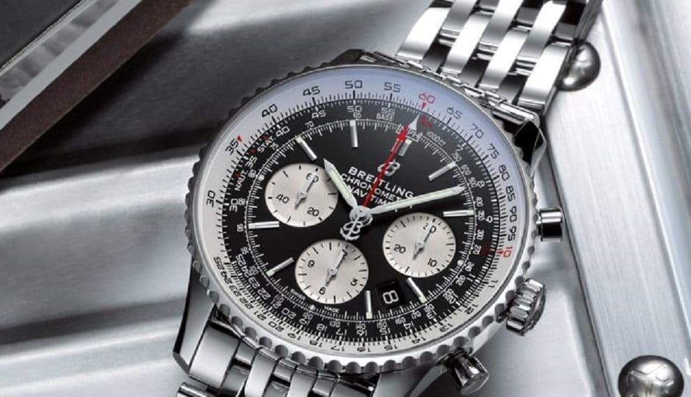 El Breitling Top Time será el primer reloj de la marca que será ofrecido con un pasaporte digital basado en blockchain. Fuente: @Breitling/twitter.com