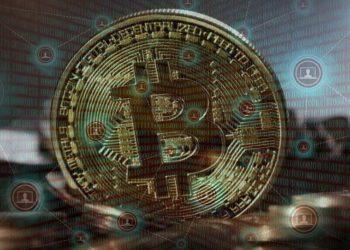 Bitcoin sobre red descentralizada. Imágene por pixabay/pexels.com y Jack Moreh/stockvault.net