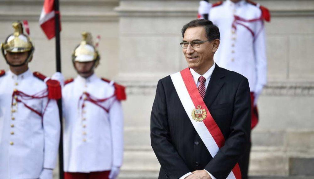 Martín Vizcarra es el presidente del Perú desde el año 2018. Fuente: Eldinamo.com
