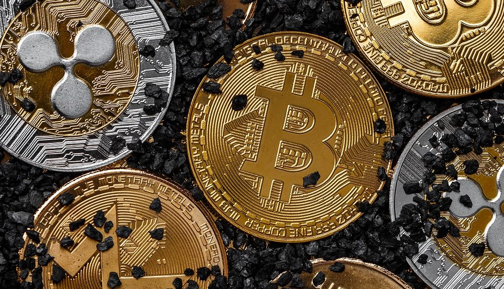La demanda de servicios financieros con criptomonedas se ha elevado recientemente. Fuente: grafvision/elements.envato.com