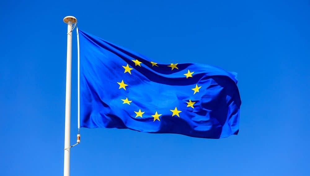 Bandera de la Unión Europea. Fuente:  rawf8/elements.envato.com