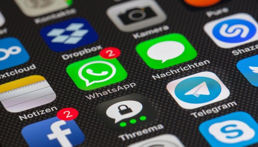 Iconos de aplicaciones de mensajería. Fuente: LoboStudioHamburg/ Pixabay.com