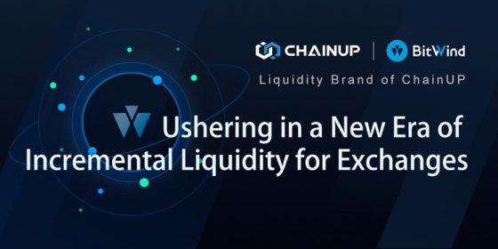 BitWind de ChainUP inicia nueva era de liquidez incremental para los exchanges