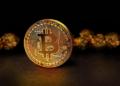 Una moneda bitcoin y oro. Fuente: dapple-designers/ Pixabay.com