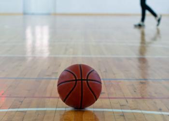 Una pelota de baloncesto. Fuente: perutskyy/ Envato Elements.