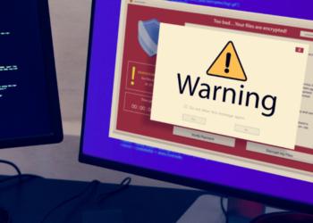 Una computadora da señal de alerta por vulnerabilidad en su sistema. Fuente: Rawpixel/ Envato Elements.