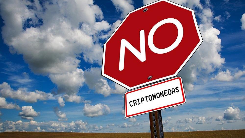 Criptomonedas-negación-blockchain-aviso