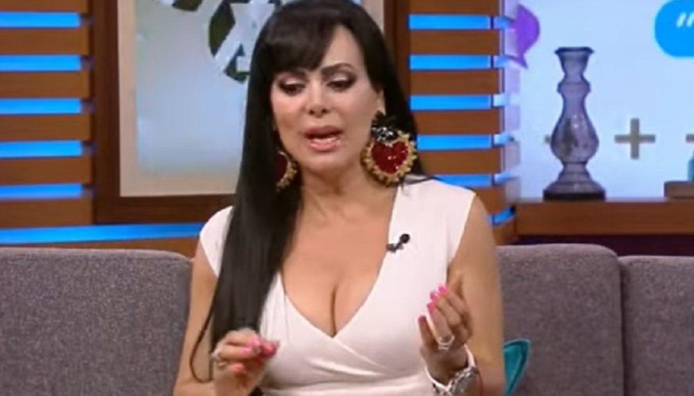 Actriz Maribel Guardia. Fuente: captura entrevista youtube.com