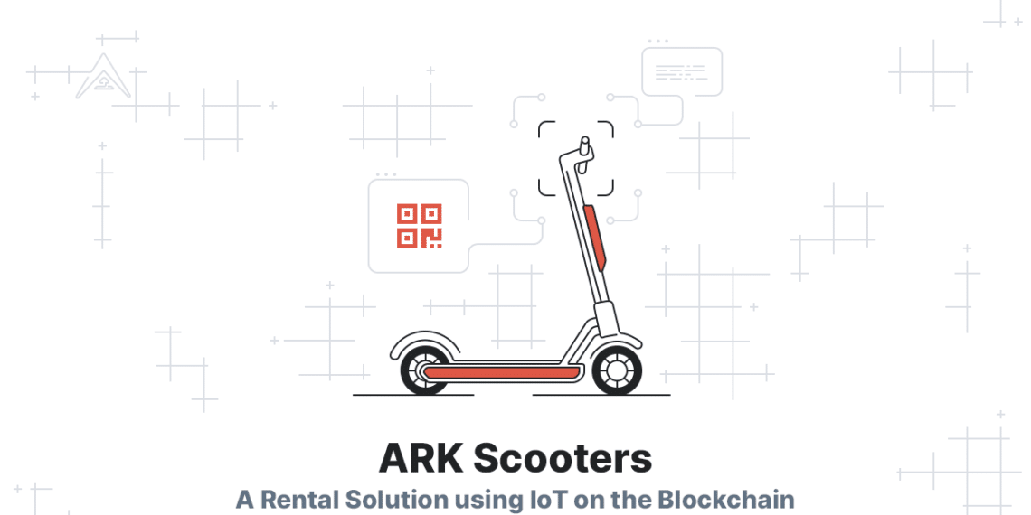 Blockchain ARK transporte descentralizado