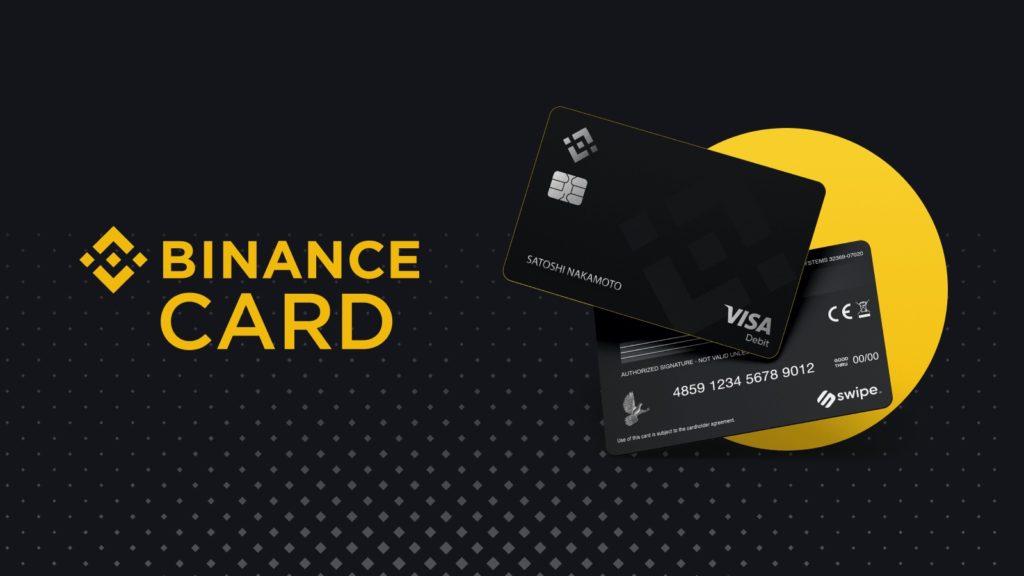 pagos con BTC o BNB - tarjeta de Binance en España