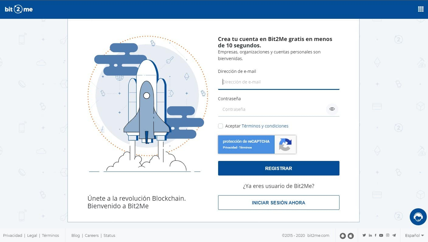 registrar cuenta bit2me españa bitcoin