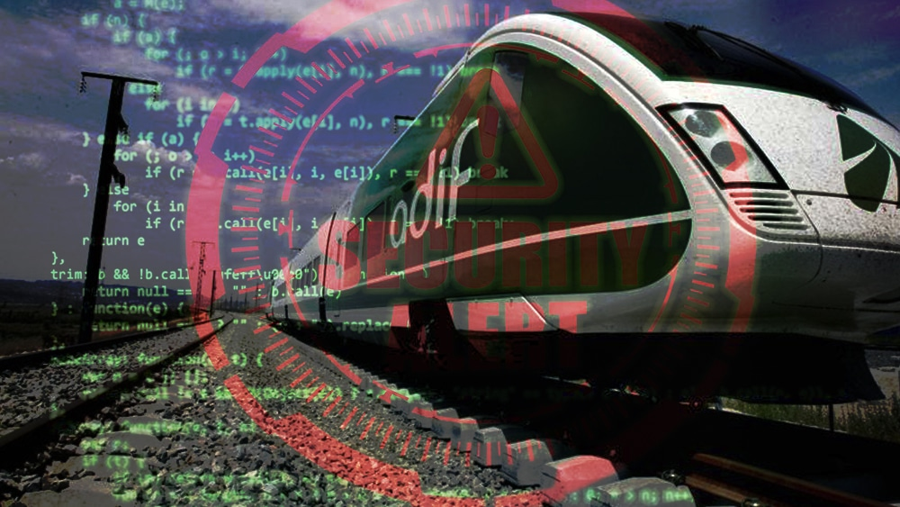 Ferro transporte hacker ransonware