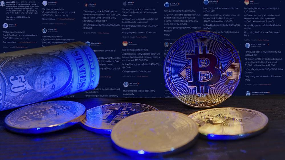 Bitcoin criptomoneda estafa Twitter