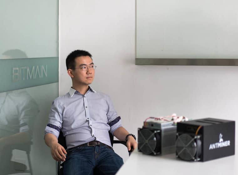cofundador Bitmain S9 bitcoin