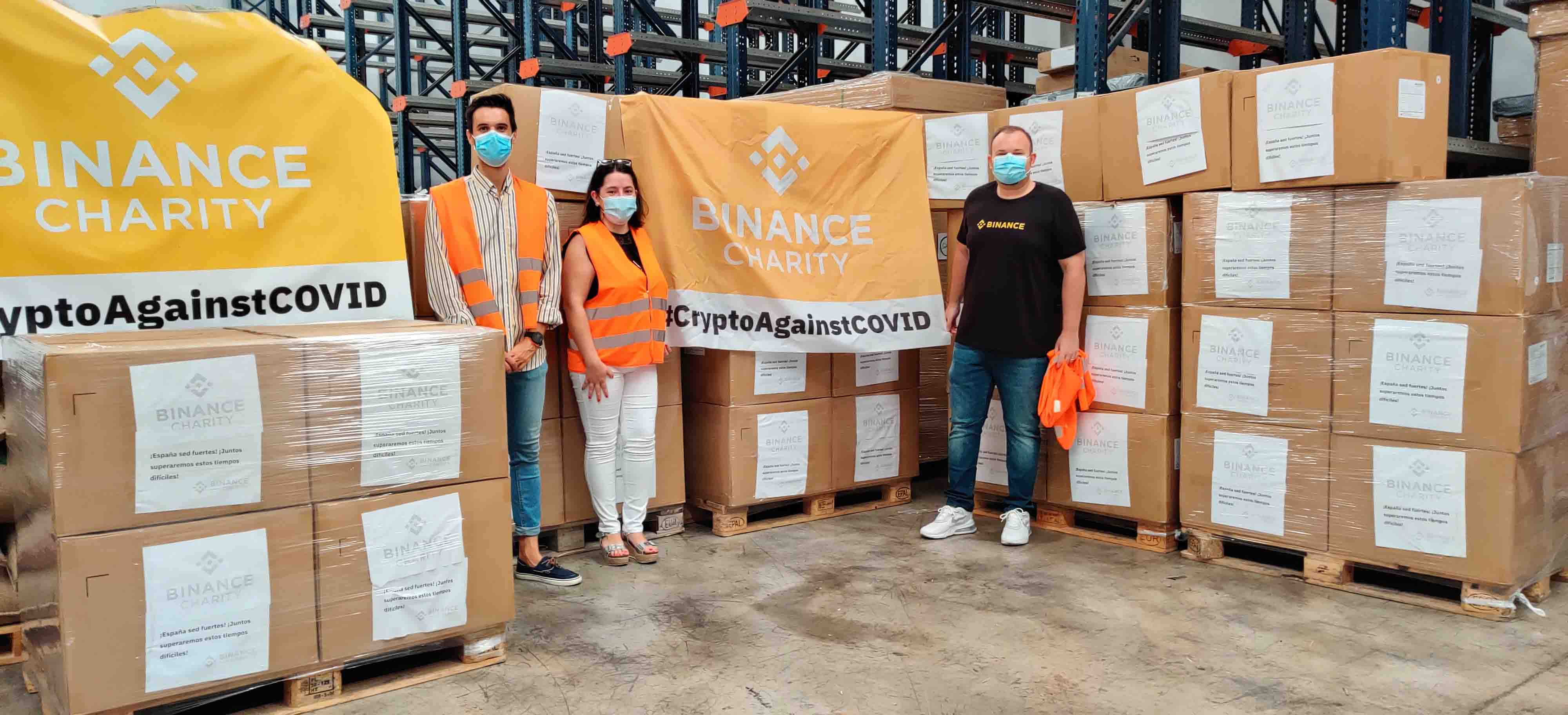 Binance-Charity.donaciones-espa{a-coronavirus-COVID-19