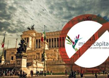Italia prohibe Consob scam