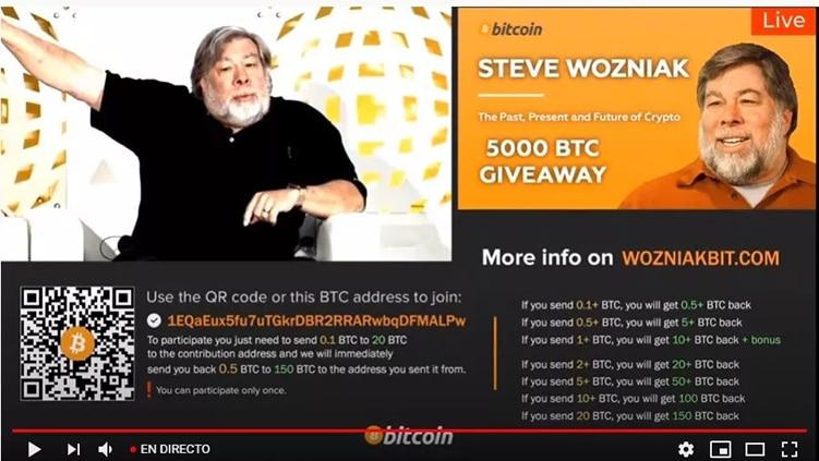 estafas-bitcoin-youtube-Steve-Wozniak