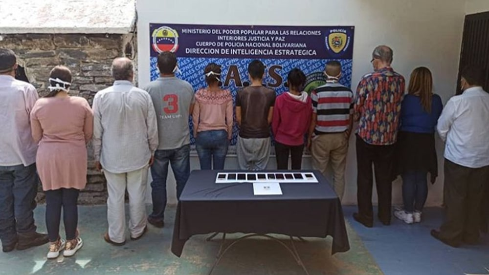 Petro detenidos Venezolanos fraude