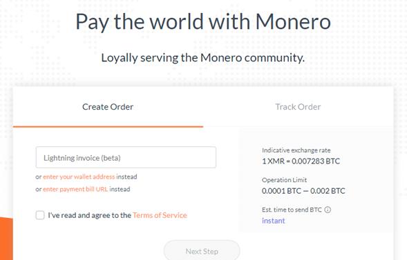 monero-pago-transacción