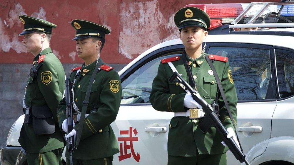 Chinos autoridad fraude arresto