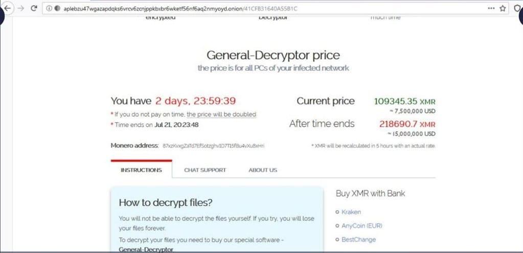 ransomware-Telecom-Argentina-criptomonedas