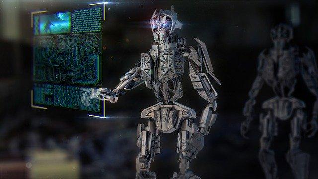 IA robot conversación internet