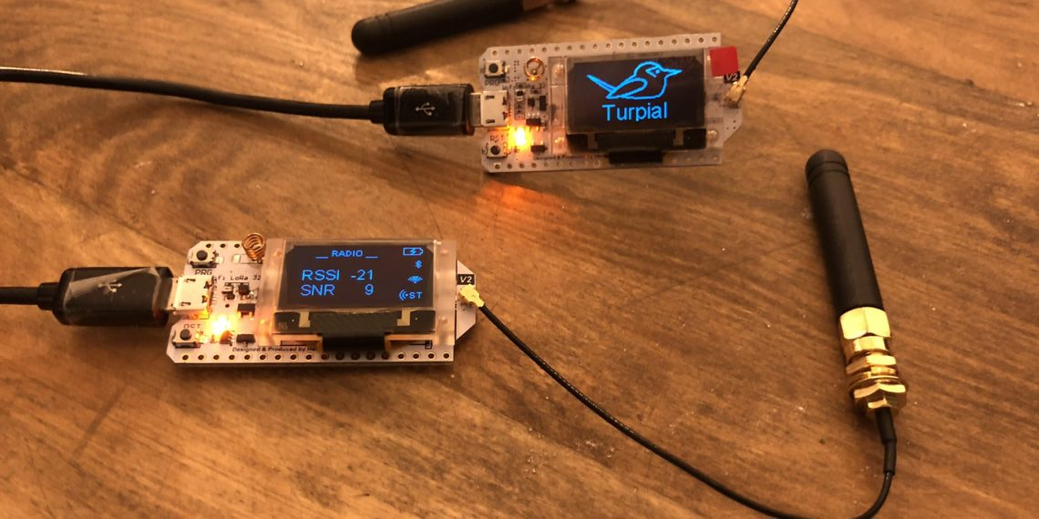 El Turpial, hardware de Locha Mesh para transacciones de Bitcoin fuera de Internet. Fuente: Locha Mesh.