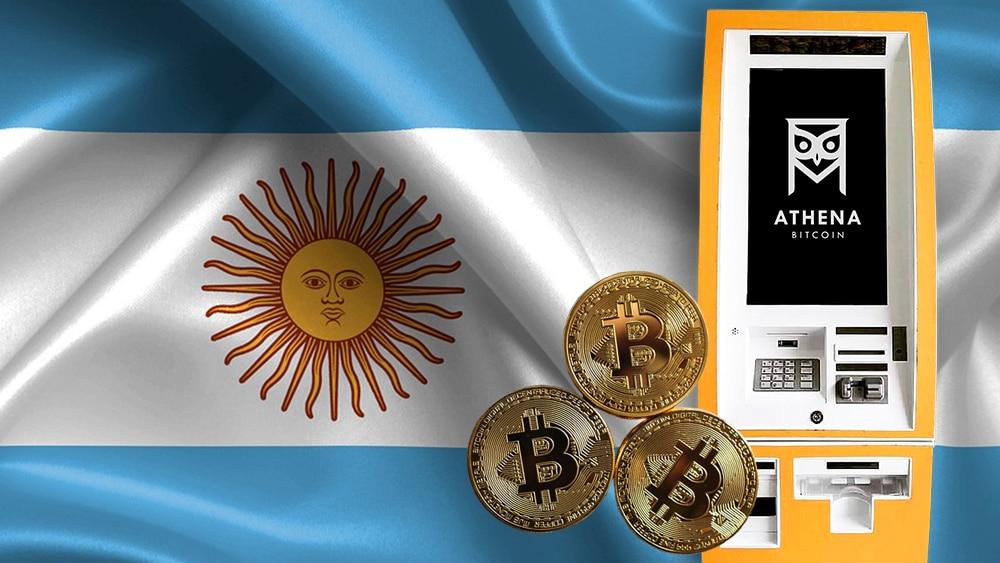 ATM Athena bitcoin criptomonedas