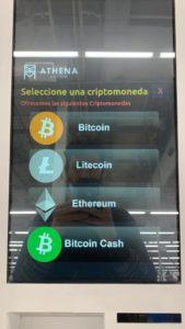 Bitcoin Argentina criptomoneda cajero