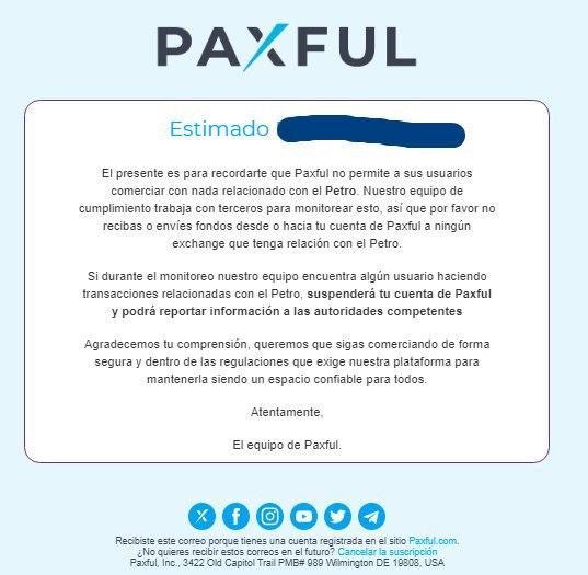 paxful criptomonedas transacciones