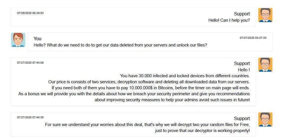 ransomware-secuestro-CWT-rescate-bitcoin