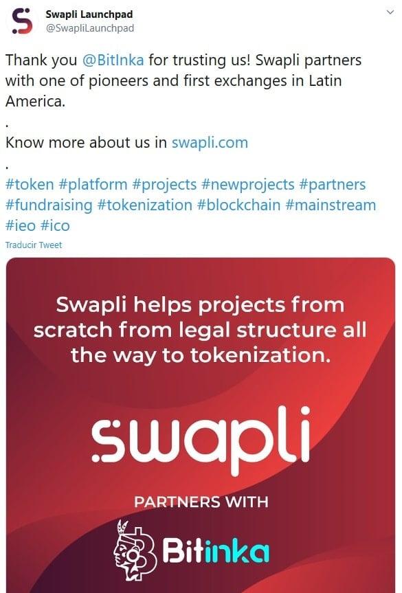plataforma swapli usuarios alianza