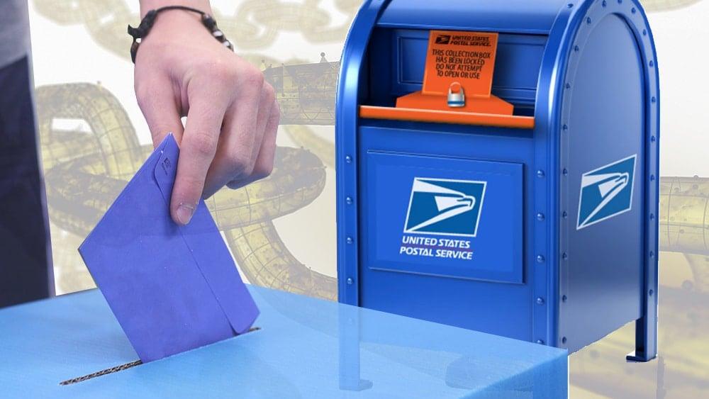 USPS patente votación plataforma