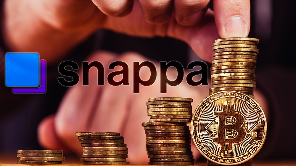 empresa-canada-Snappa-compra-bitcoin