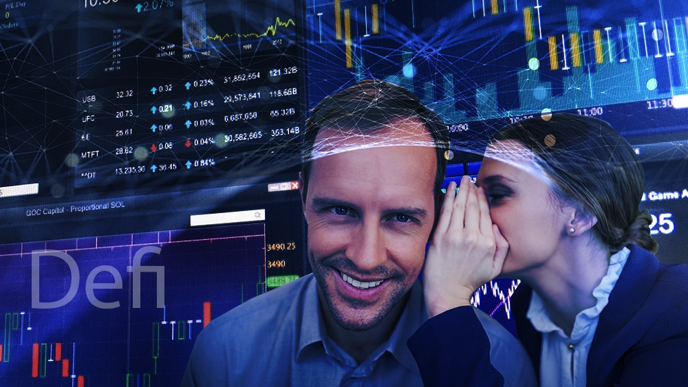 trader información privilegiada mercado