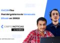 Portada del episodio 22 de En Análisis con Héctor Cárdenas (izquierda) e Iván Gómez (derecha). Fuente: CriptoNoticias.
