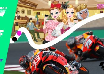 Videojuegos Star Girls y MotoGP en blockchain Flow