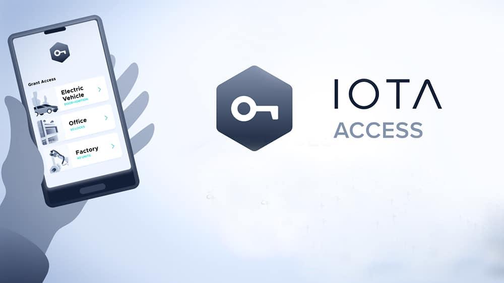 Presentación IOTA Access. Composición por CriptoNoticias IOTA /  blog.iota.org ;
