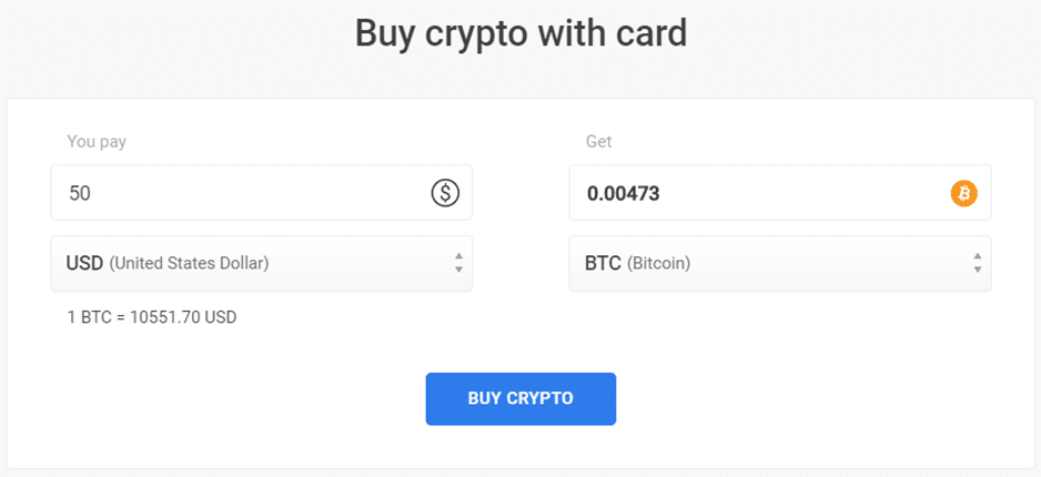 Calculadora de compra de criptomonedas