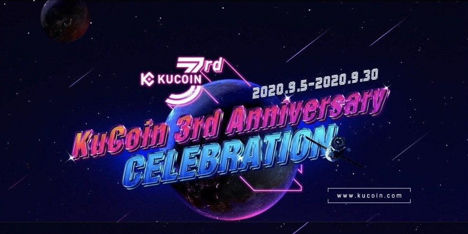 Tercer aniversario de Kucoin