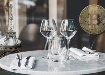 comida francesa pago bitcoin