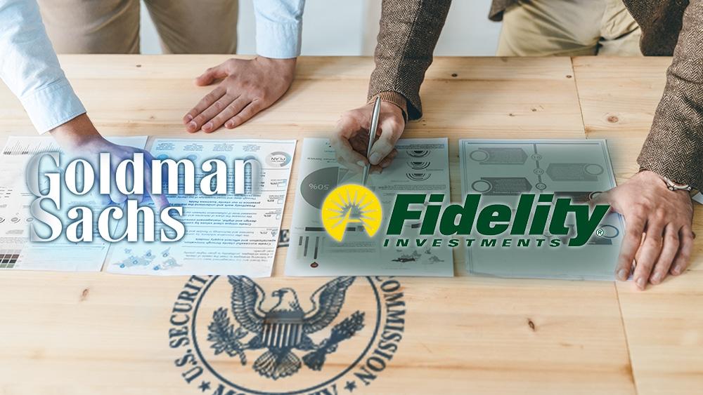 solicitud etf bitcoin SEC fidelity goldman sachs