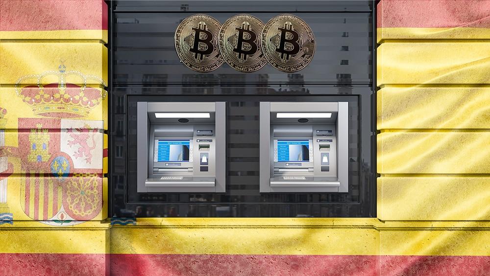 España-cajeros-criptomonedas-Bitcoin