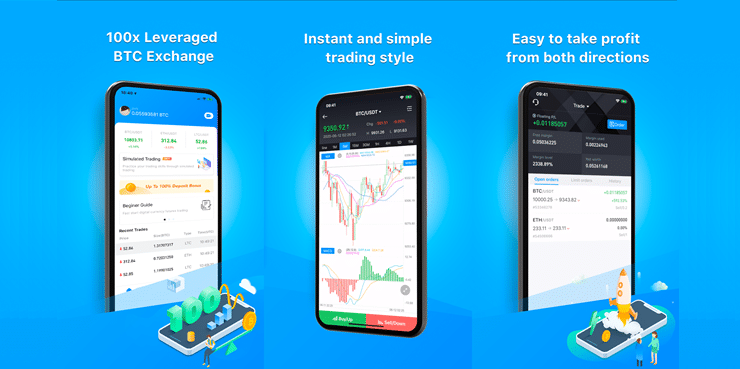 Aplicación Bexplus para el trading móvil