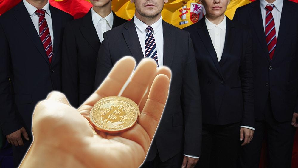 Funcionarios gobierno criptomoneda medio pago