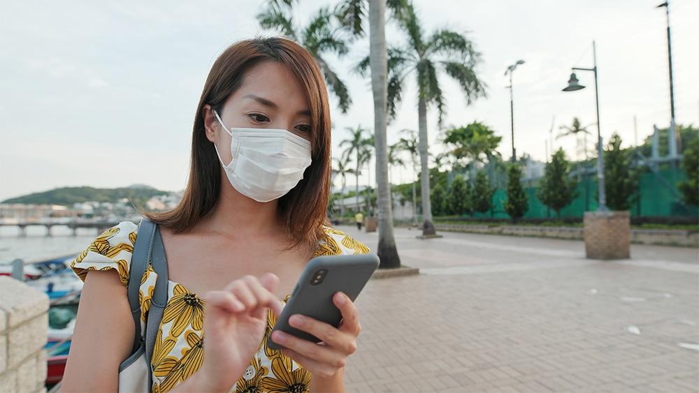 aplicación móvil salud coronavirus 2020