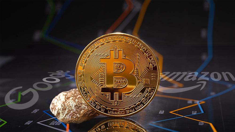 mercado bitcoin google amazon oro